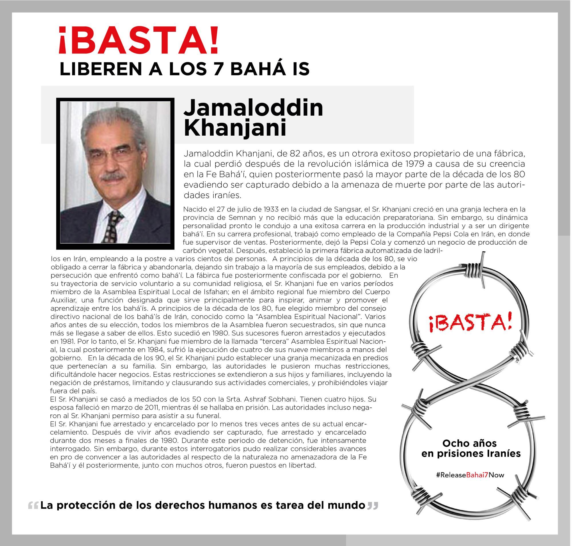 Continua la Campaña por los 7 Bahá\'ís en Irán