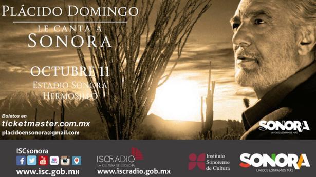 Resultado de imagen para fotos del concierto de placido domingo en hermosillo