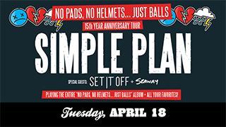 Simple Plan 15th anniversary tour