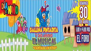 La gallina pintadita y sus amigos, El Musical