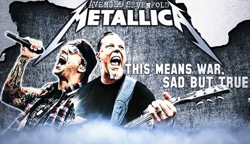Metallica and Avenged Sevenfold