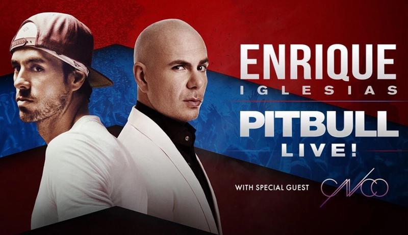 Enrique Iglesias y Pitbull en San Diego