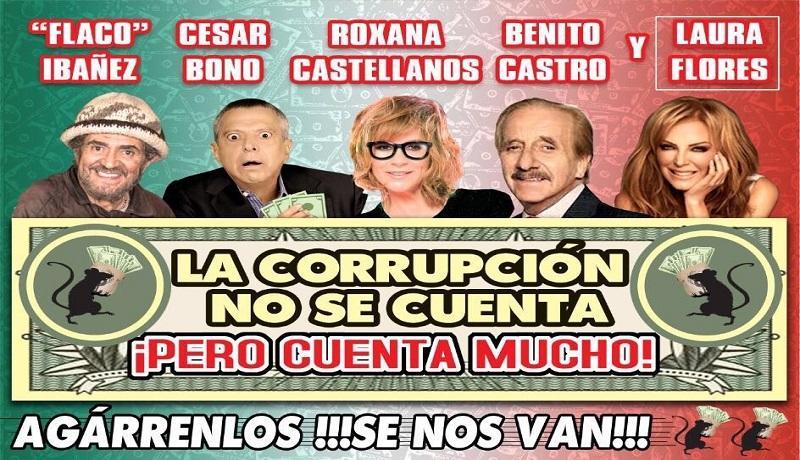 La corrupción no se cuenta