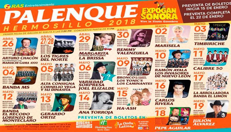 Palenque Expogan Sonora