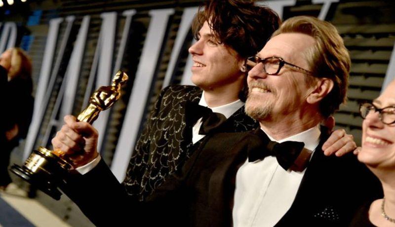 Gary Oldman triunfó como Mejor Actor de los Oscar 2018