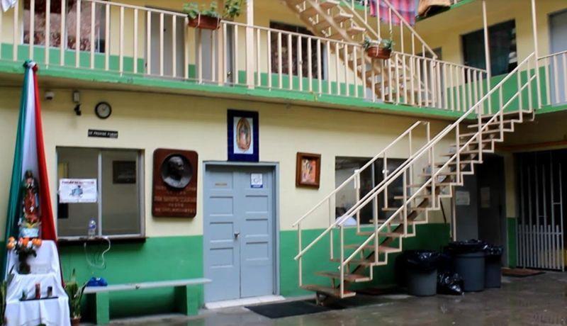 Celebran el 31 aniversario de la casa del migrante for Mural de la casa del migrante