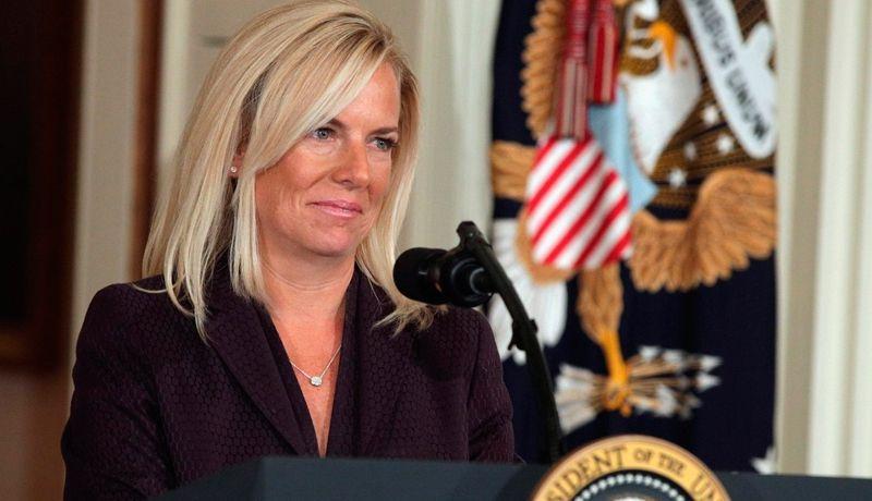 Resultado de imagen para La secretaria estadounidense del Departamento de Seguridad Nacional (DHS), Kirstjen Nielsen