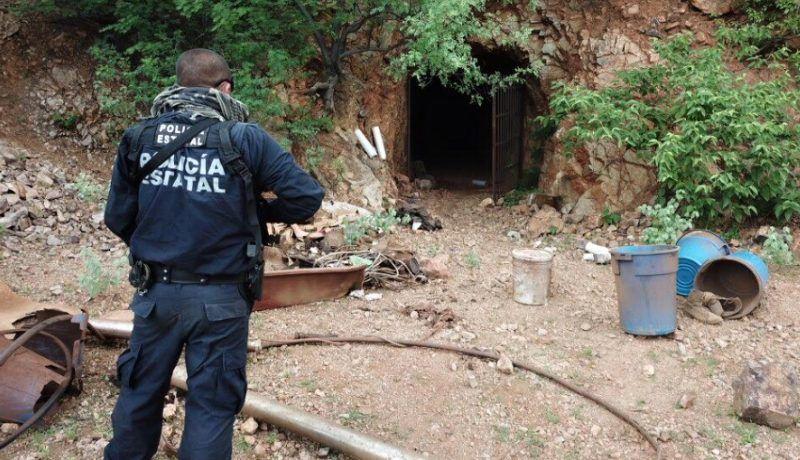 Destruyen narcolaboratorio en mina abandonada entre Ures y Rayón