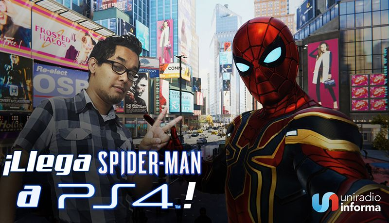Video Llega El Video Juego De Spiderman A Ps4