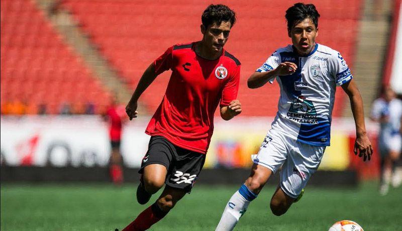 Xolos sub 17 empata 2-2 mientras que sub 20 caen 2-0 ante Pachuca
