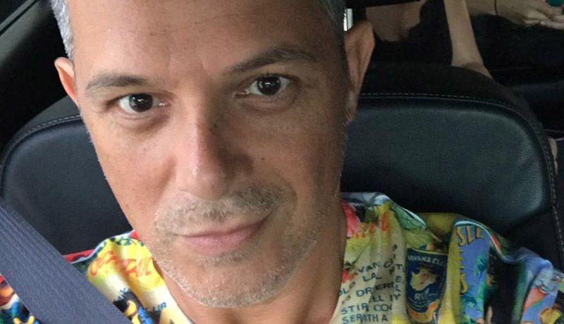 Alejandro Sanz da sentido adiós a su abuelo