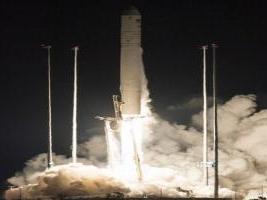 NASA lanza con éxito cohete Antares hacia estación espacial