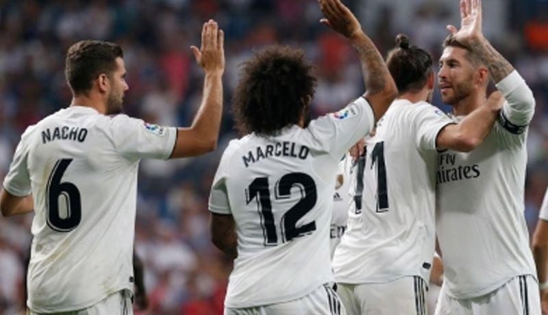 Real Madrid aplasta al Melilla y pasa a octavos de final Copa del Rey