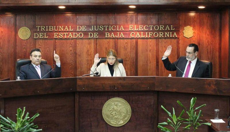 Resultado de imagen para tribunal de justicia electoral de baja california