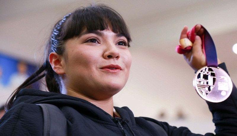 Alexa Moreno intensifica disciplina de frente a Olimpiadas de 2020