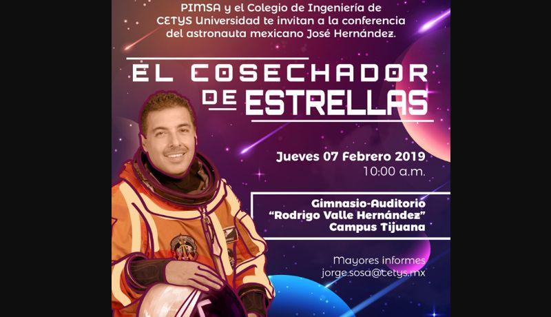 Visitará Astronauta Mexicano A Cetys Universidad
