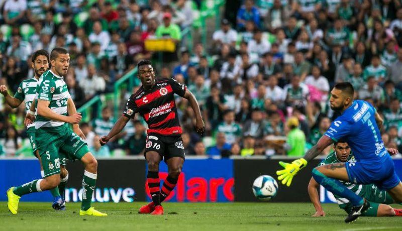 Xolos empata 1-1 con Santos