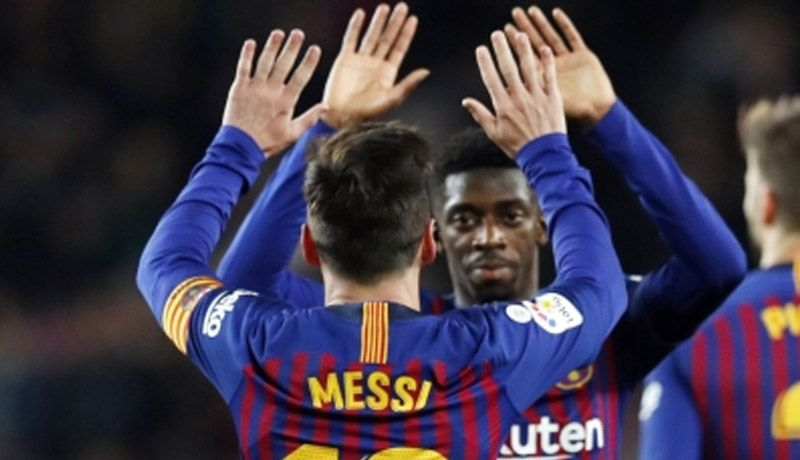 Barcelona lidera 10 estadísticas individuales y colectivas en la Liga