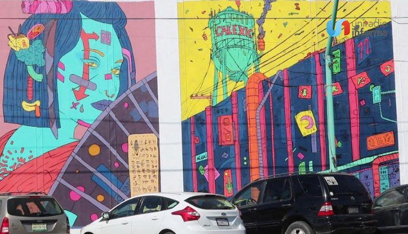 Inauguran Mexicali Ciudad Mural 21 Artistas Participaron En Proyecto