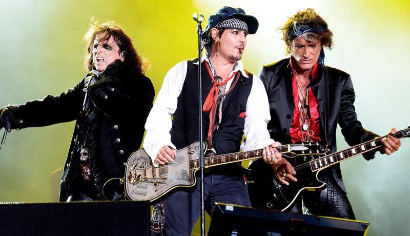 Alice Cooper, Johnny Depp y Joe Terry regresan con música inédita