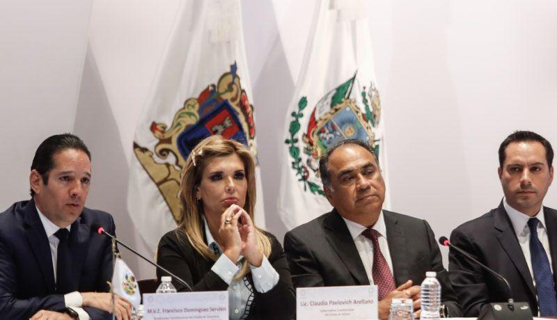 Gobernadores llaman a AMLO a firmar Acuerdo Nacional por la Concordia