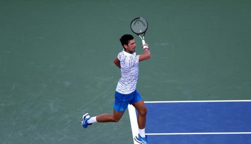 Novak Djokovic gana y se instala en semifinales en Cincinnati