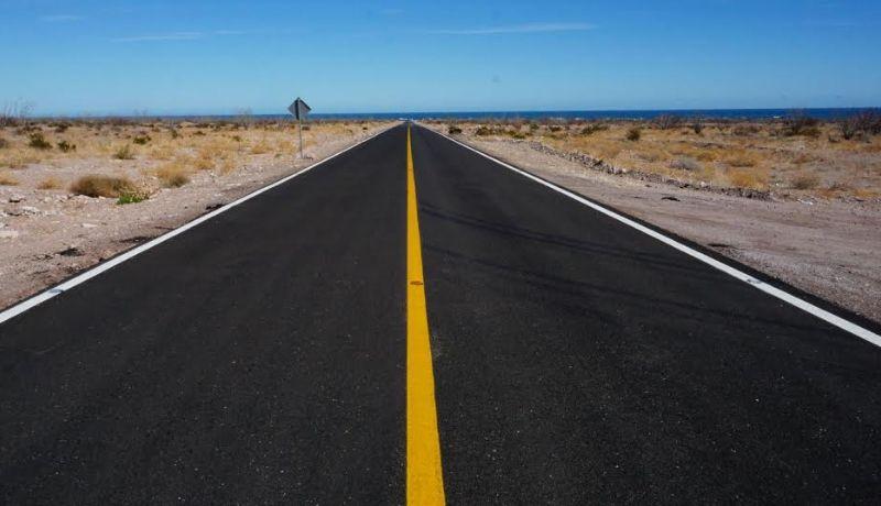 Concluye construcción de carretera San Felipe - Puertecitos - Chapala