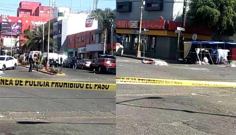 Asesinan a dos hombres cerca de un mercado sobre ruedas