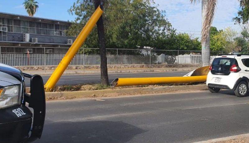 Arco preventivo en Luis Encinas será repuesto en próximos días