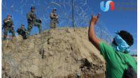 Falla cerco de la Federal y migrantes cruzan Río hacia el Chaparral