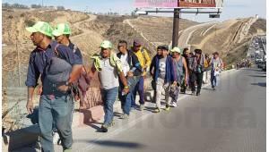 Caravana Migrante se dirige a Playas de Tijuana