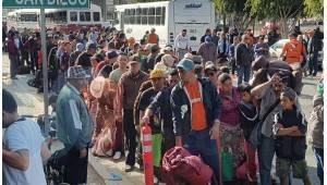 Suman más de 1600 migrantes centroamericanos