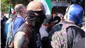 Manifestación contra la Caravana Migrante