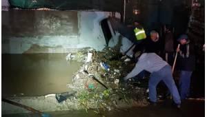 Lluvias causan estragos en Tijuana durante el fin de semana