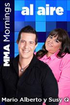 Al Aire MMA Mario Alberto y Susy Q