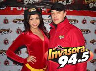 Invasora 94.5 en el Xolos vs. Pachuca
