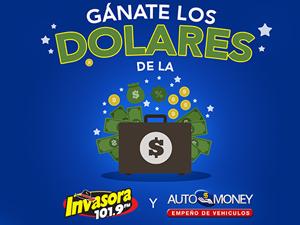 G�nate los dolares de La Invasora 101.9 y Automoney