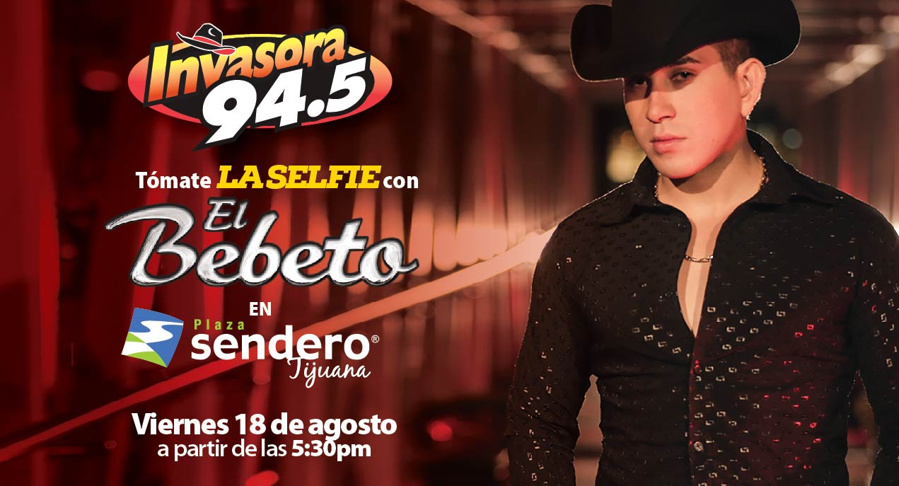 Tomate la selfie con El Bebeto