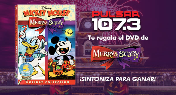 Mickey Mouse  Merry & Scary DVD Giveaway