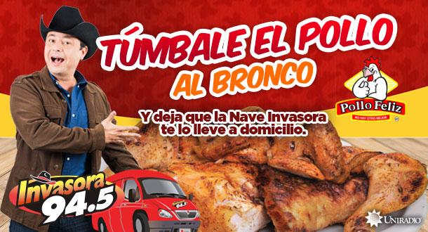Túmbale el pollo al Bronco