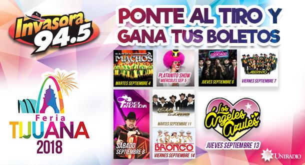 ¡Feria de Tijuana 2018 del 4 al 9 de septiembre!