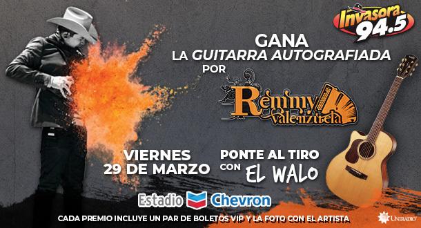 ¡La Guitarra de Remmy Valenzuela!