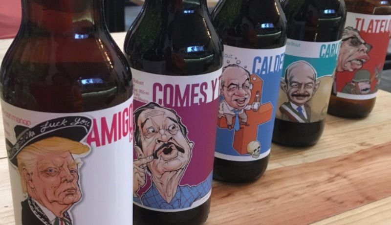Crean cervezas con sabor a política