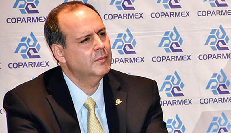 Gustavo De Hoyos Walther, pdte. Coparmex