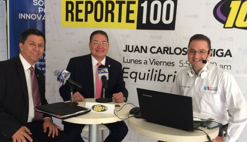 Enrique Guillén, Pdte. Nacional de Canacintra