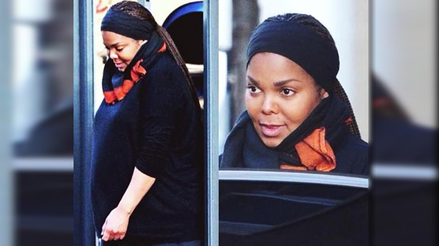 Primeras fotos de Janet Jackson embarazada