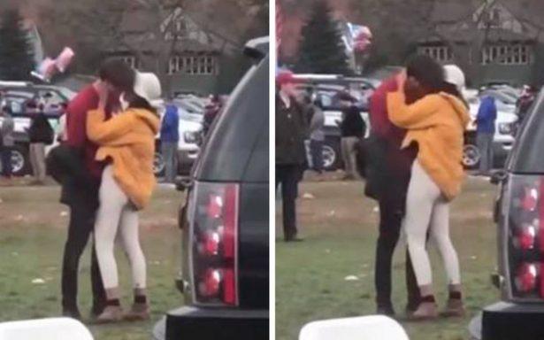 Difunden vídeo de Malia Obama besando a su supuesto novio en Harvard